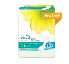 Image for TENA Pads Moderate Long